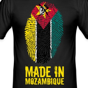 Made In Mozambique / Mosambik - Männer Slim Fit T-Shirt