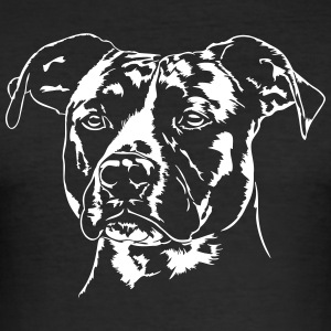 American Staffordshire Terrier - Slim Fit T-skjorte for menn