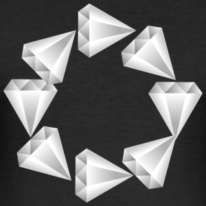 Diamonds-hollow - slim fit T-shirt