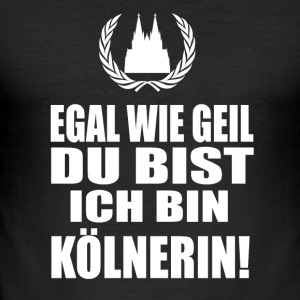 Köln - Herre Slim Fit T-Shirt