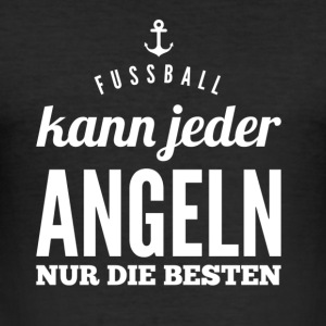 Angel Design - Männer Slim Fit T-Shirt