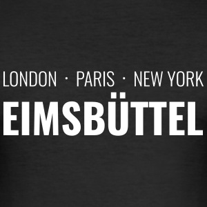 Eimsbüttel - London, Paris, New York - Männer Slim Fit T-Shirt