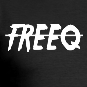 freeQ - Männer Slim Fit T-Shirt