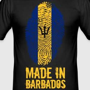 Made In Barbados - Men's Slim Fit T-Shirt