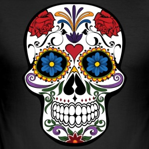 Calavera - Slim Fit T-skjorte for menn