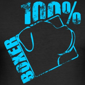 BOXER 100 - Men's Slim Fit T-Shirt