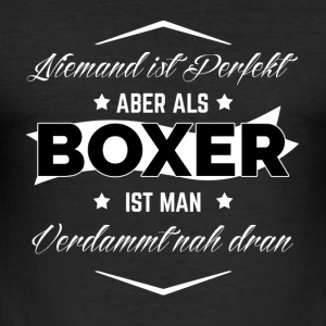 BOXER - Männer Slim Fit T-Shirt