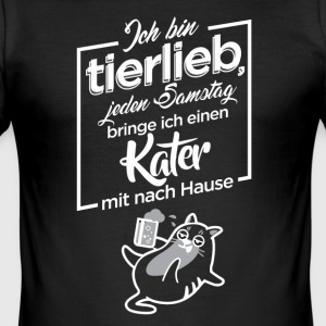 Tierlieb - Männer Slim Fit T-Shirt