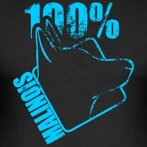 MALINOIS 100 - Men's Slim Fit T-Shirt