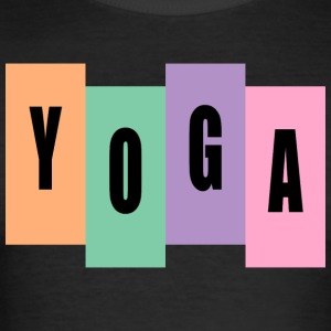 YOGA - Männer Slim Fit T-Shirt