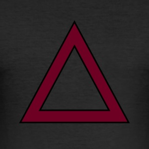 TRIANGLE SWAG - Tee shirt près du corps Homme