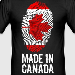 Made In Canada / Kanada - Männer Slim Fit T-Shirt