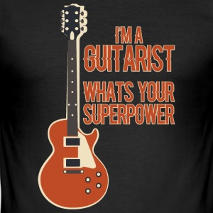 Awesome GUITARIST - Musik - Herre Slim Fit T-Shirt