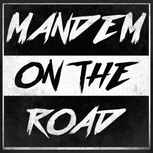 mandem_on_the_road0000 - Slim Fit T-skjorte for menn