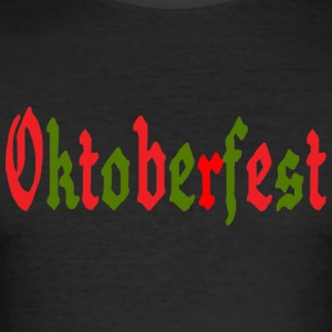 OKTOBERFEST - Men's Slim Fit T-Shirt