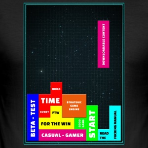 tetris - Men's Slim Fit T-Shirt