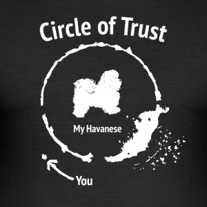 Funny Havanna skjorte - Circle of Trust - Slim Fit T-skjorte for menn