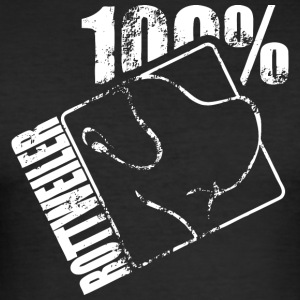 ROTTWEILER 100 - Slim Fit T-skjorte for menn