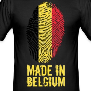 Made In België / België / Belgique / België - slim fit T-shirt