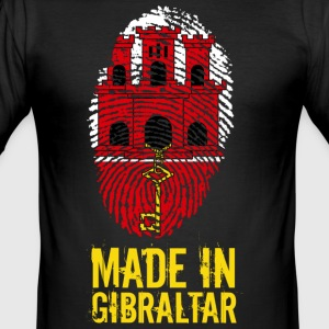 Gemaakt in Gibraltar - slim fit T-shirt