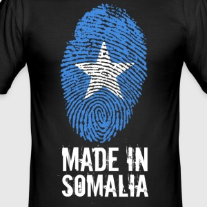 Made In Somalia / Soomaaliya / الصومال - Slim Fit T-skjorte for menn