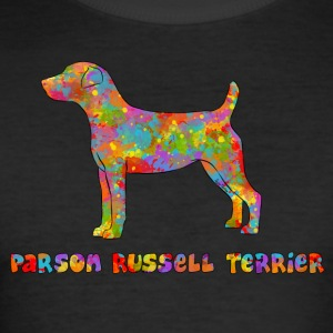 Parson Russell Terrier Multicolor - Männer Slim Fit T-Shirt