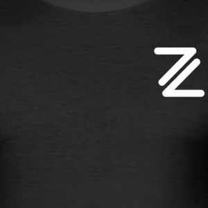 Zido Chain Logo - Men's Slim Fit T-Shirt