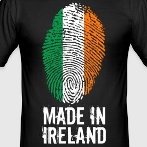 Made In Ireland / Irland / Éire - Männer Slim Fit T-Shirt