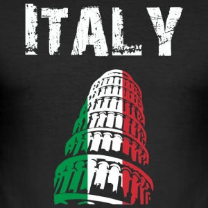 Nation-Design Italy 02 - Men's Slim Fit T-Shirt