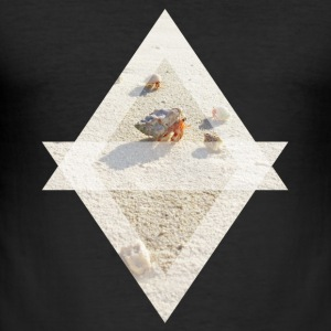 hermit crab - Men's Slim Fit T-Shirt