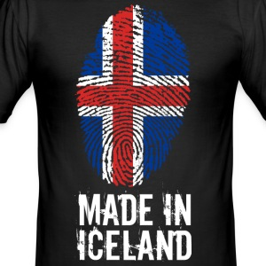 Gemaakt in IJsland / IJsland / IS - slim fit T-shirt