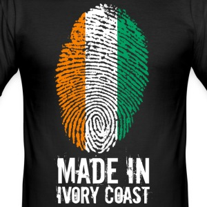 Made In Ivory Coast / Ivory Coast - Men's Slim Fit T-Shirt