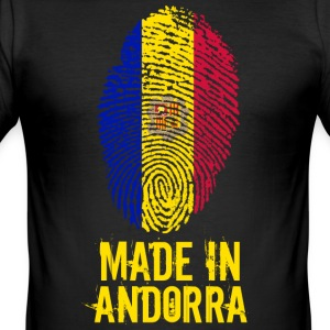 Made In Andorra - Men's Slim Fit T-Shirt