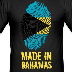 Made In Bahamas - Men's Slim Fit T-Shirt