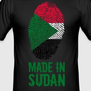 Made In Sudan / جمهورية السودان - Männer Slim Fit T-Shirt