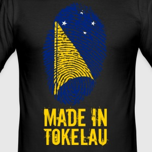 Made In Tokelau - Slim Fit T-skjorte for menn