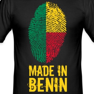 Made In Benin - Slim Fit T-shirt herr