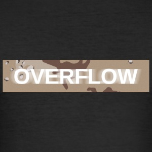 Overflow - Men's Slim Fit T-Shirt