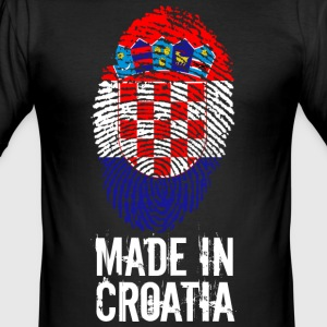 Made in Kroatien / Made in Kroatien Hrvatska - Herre Slim Fit T-Shirt