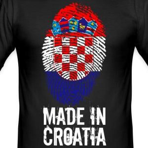 Made in Kroatië / Made in Kroatië Hrvatska - slim fit T-shirt