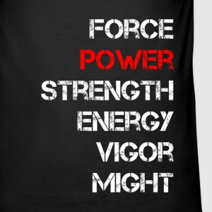power - Men's Slim Fit T-Shirt