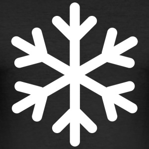 snowflake - Men's Slim Fit T-Shirt