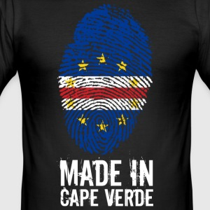 Made In Cape Verde / Kap Verde / Cabo Verde - Männer Slim Fit T-Shirt