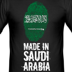 Gemaakt in Saudi Arabia / Saudi-Arabië - slim fit T-shirt