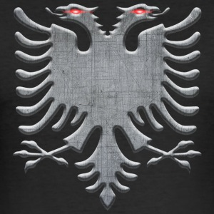 Albanian eagle iron - Men's Slim Fit T-Shirt