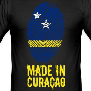 Made In Curaçao / Kòrsou - Slim Fit T-skjorte for menn
