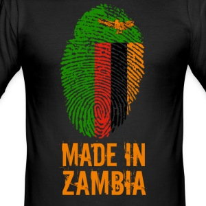 Made In Zambia / Sambia - Männer Slim Fit T-Shirt
