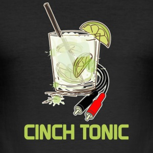 Cinch Tonic - Männer Slim Fit T-Shirt