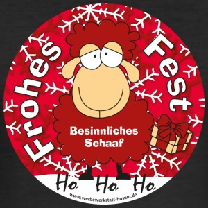 Schaaf Kerstmis - slim fit T-shirt