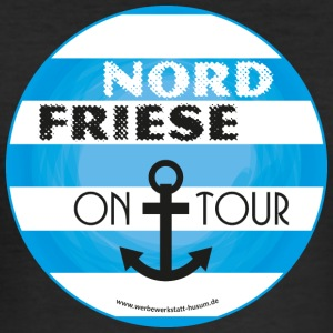Nordfriese on tour - Männer Slim Fit T-Shirt